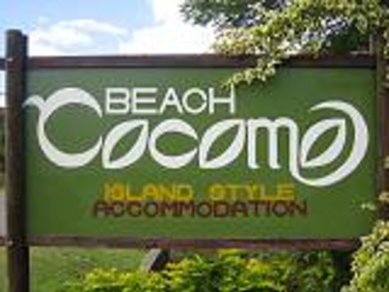 Beach Cocomoの目印!