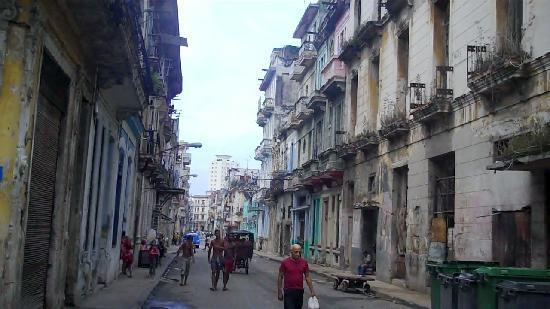 Old town Havana Cuba