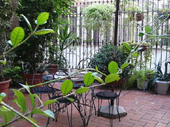 bcn Fashion House: la terrasse....trés agréable....