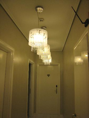 Athens Diamond Homtel: The corridor.