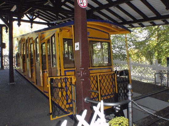 Walking Wiesbaden: The funicular
