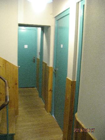 Hotel de Rouen : hall