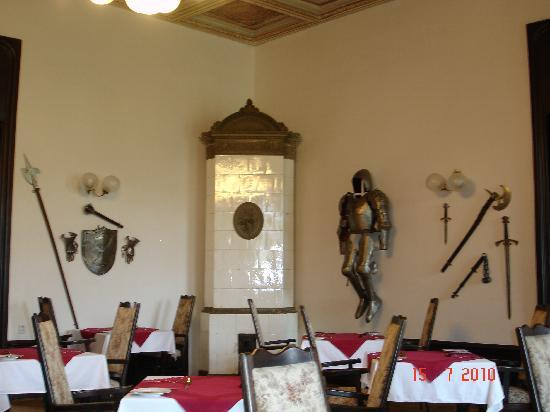 Chateau Hostacov: Dining room