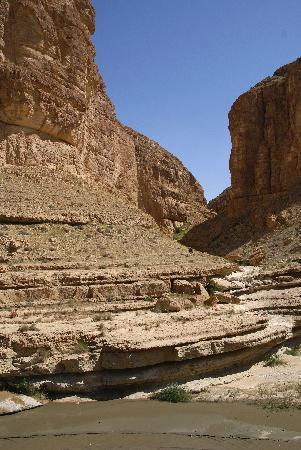 Lezard Rouge: canyon