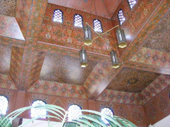 Les Omayades Hotel : plafond