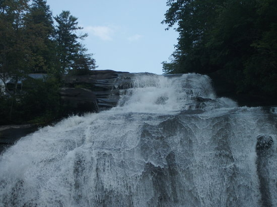 Hot Springs, Βόρεια Καρολίνα: High Falls, Dupont State Forest