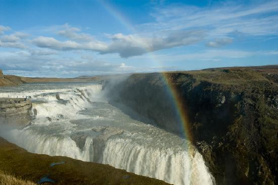 เรคยาวิก, ไอซ์แลนด์: Gulfoss Falls