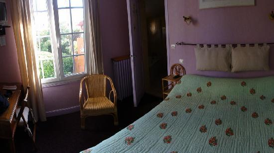 Hotel La Milady : View of the Margaux room