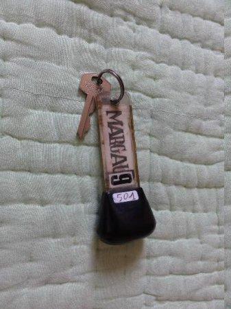 Hotel La Milady : Key to my room