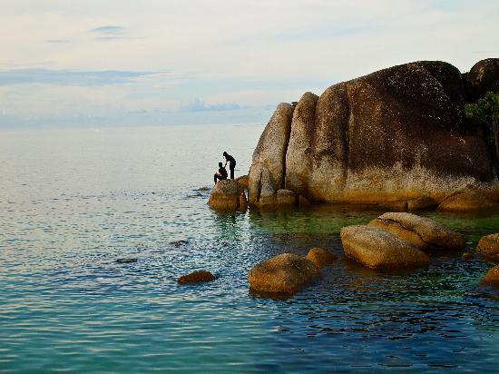 Belitung Island, Indonesia: captured in the moment of sunset