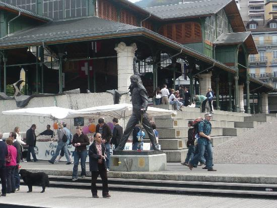 Montreux, Switzerland: Freddie Mercury Memorial