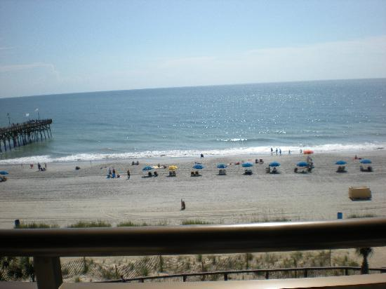Myrtle Beach, SC: Our view from the hotel