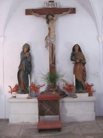 Mary Magdalena church: Calvary group