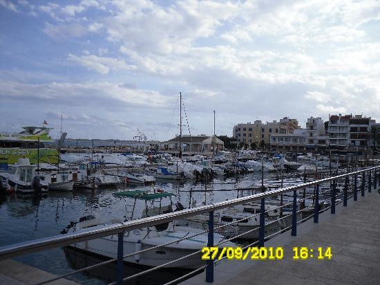 Protur Bonaire Aparthotel: Cala Bona harbour