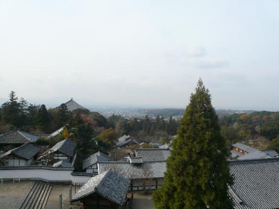 Nara, Japón: 堂からの眺め