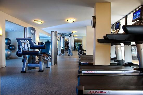 Houston Marriott West Loop by The Galleria: State of the art fitness center featuring cardio theater