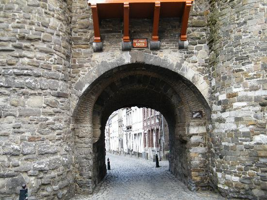 Maastricht, The Netherlands: Old city gate