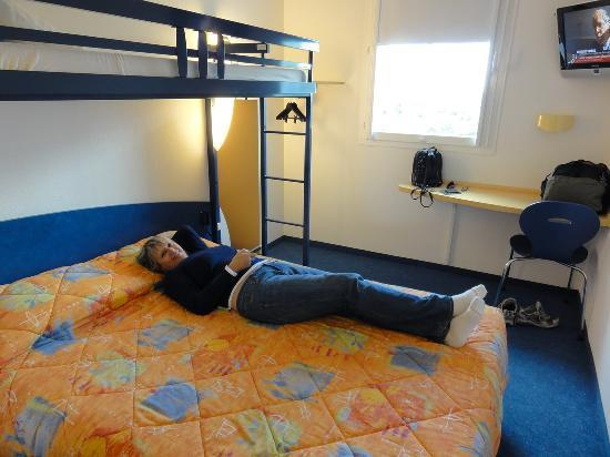 Ibis Budget Amboise : Simple but confortable accomodation