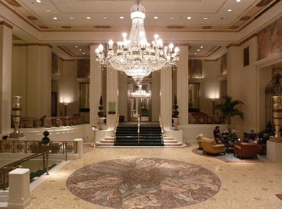 Entrance Foyer Traducir : Entrance foyer picture of waldorf astoria new york