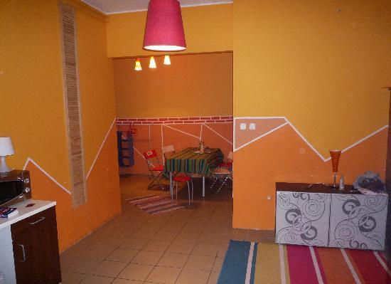Hostel Cinema : Dining-room
