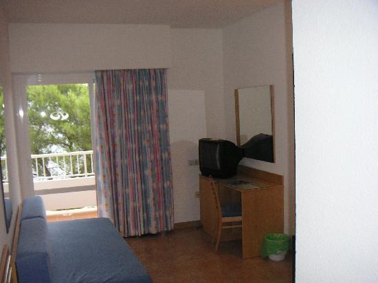 Palladium Hotel Don Carlos: Ein Blick in das Hotelzimmer
