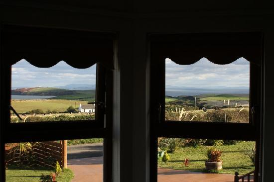Mull of Galloway Holidays: View from room.