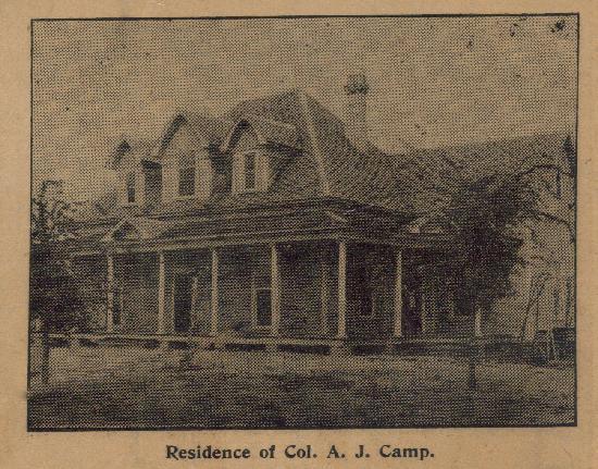 The Ragsdale Inn when first built 1905