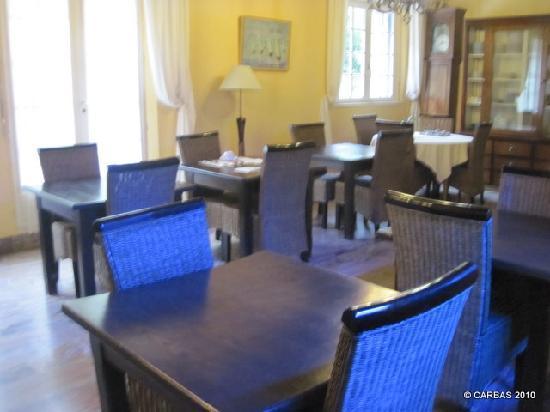 Hotel de la Corniche : Breakfast room