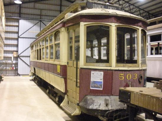 Antique Powerland Museum: streetcar