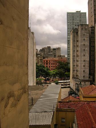 Hotel Itamarati: Vista desde la ventana