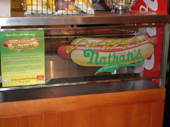 Shakes Cafe : Nathan's Famous