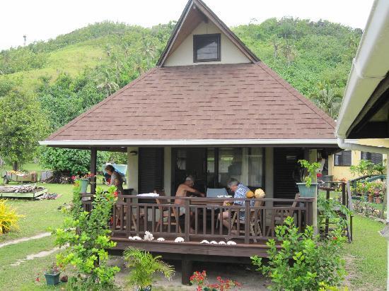 Aitutaki Beach Villas: The villa