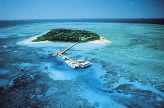 Green Island Resort: Green Island, just 26km from Cairns
