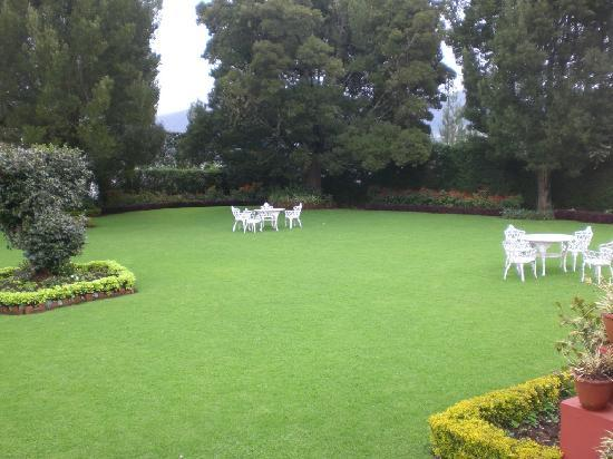 The front Lawn - Picture of Kluney Manor, Ooty - TripAdvisor