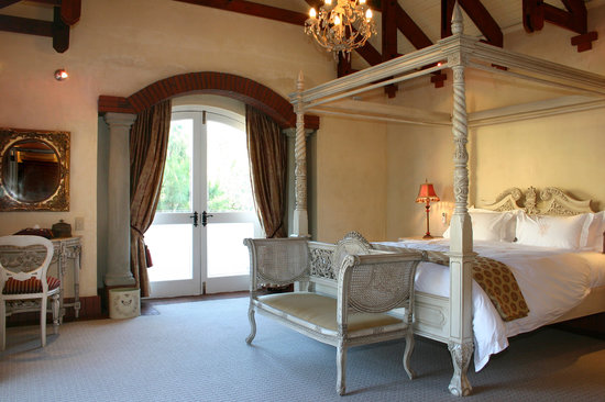 Franschhoek Country House & Villas: Villa Suite Bedroom