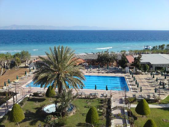 Blue Bay Beach Hotel: vu de ma chambre