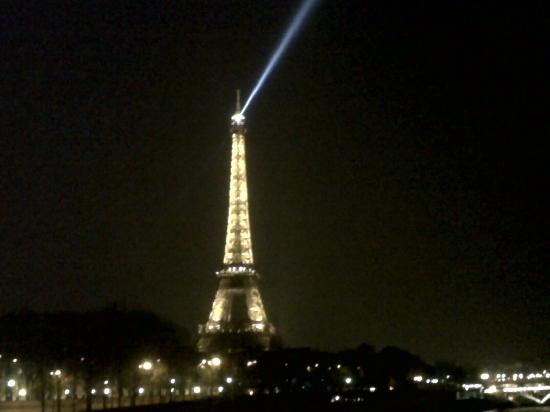 Paris, Frankrike: Tour Effiel in night