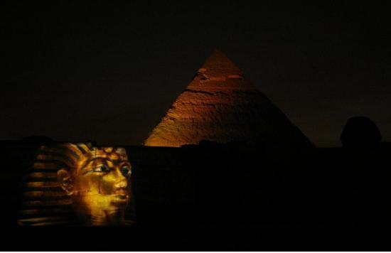 Luxor Sound and Light Show: underbaren Moment