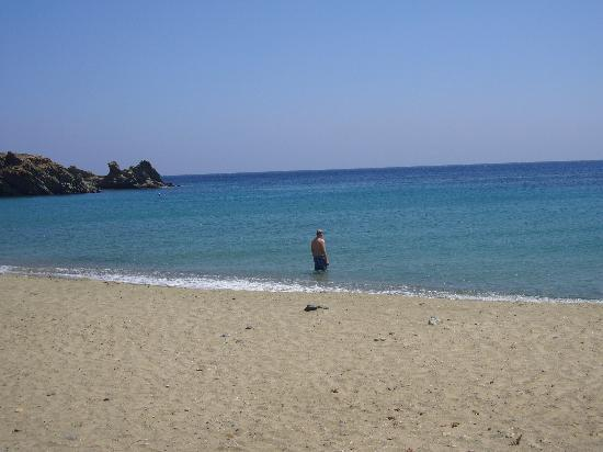 Tinos, Grecja: Big sea, with great color and big beaches