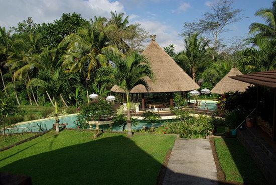 Puri Taman Sari: la piscine