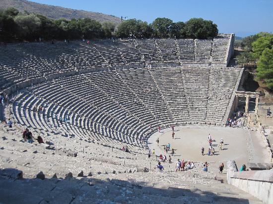 Epidavros - Picture of Epidaurus Theater, Epidavros ...
