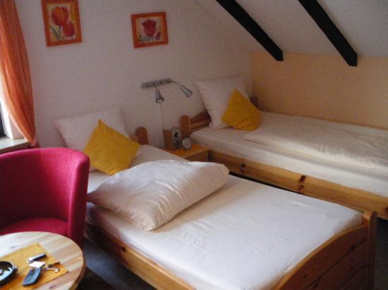 Landhaus Hubertus: Detalle de la habitación