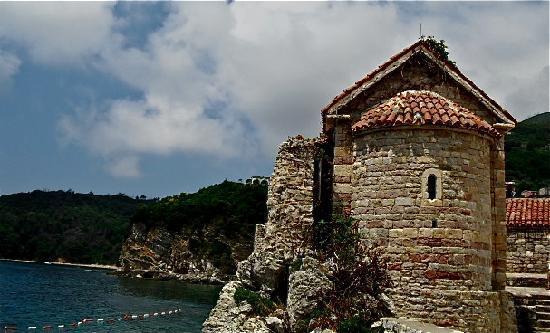 Budva, Czarnogóra: churches