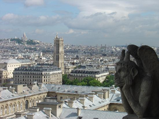 Paris, Prancis: ¿Cuantas personas ve diariamente desde ahi?