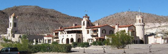 Motel 6 Beatty / Death Valley: Scotty's Castle