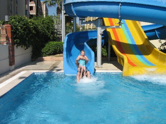 Side Star Park Hotel: waterslides