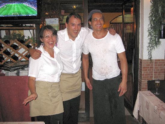 Braganca Mar: Maria, Ceasar & Daniel