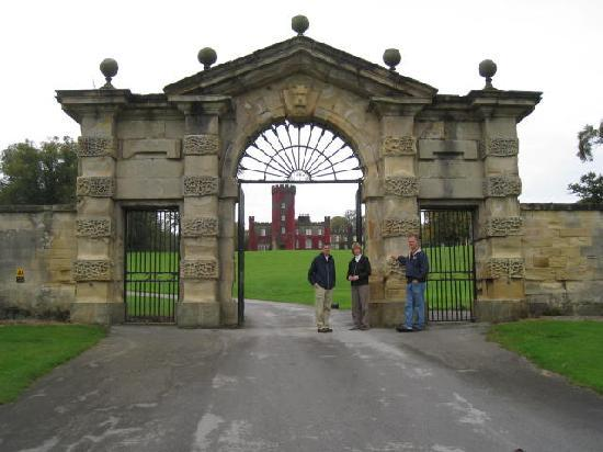 Swinton Park Country Club and Spa : A view from the entry