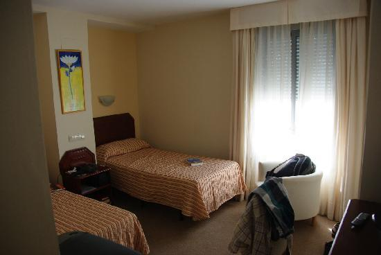 Hotel Plaza Santa Lucia : Twin room