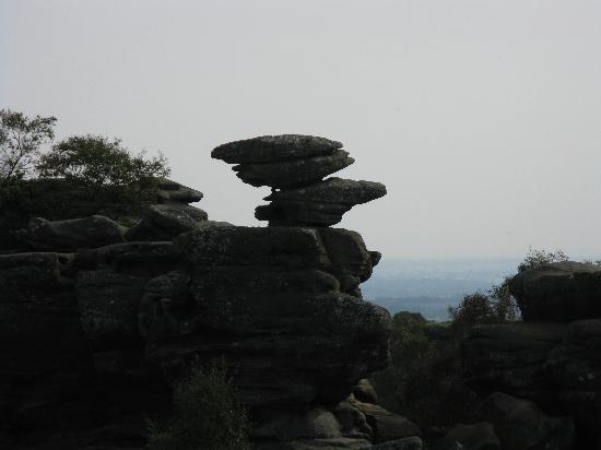 Ripon, UK: The Eagle Brimham Rocks